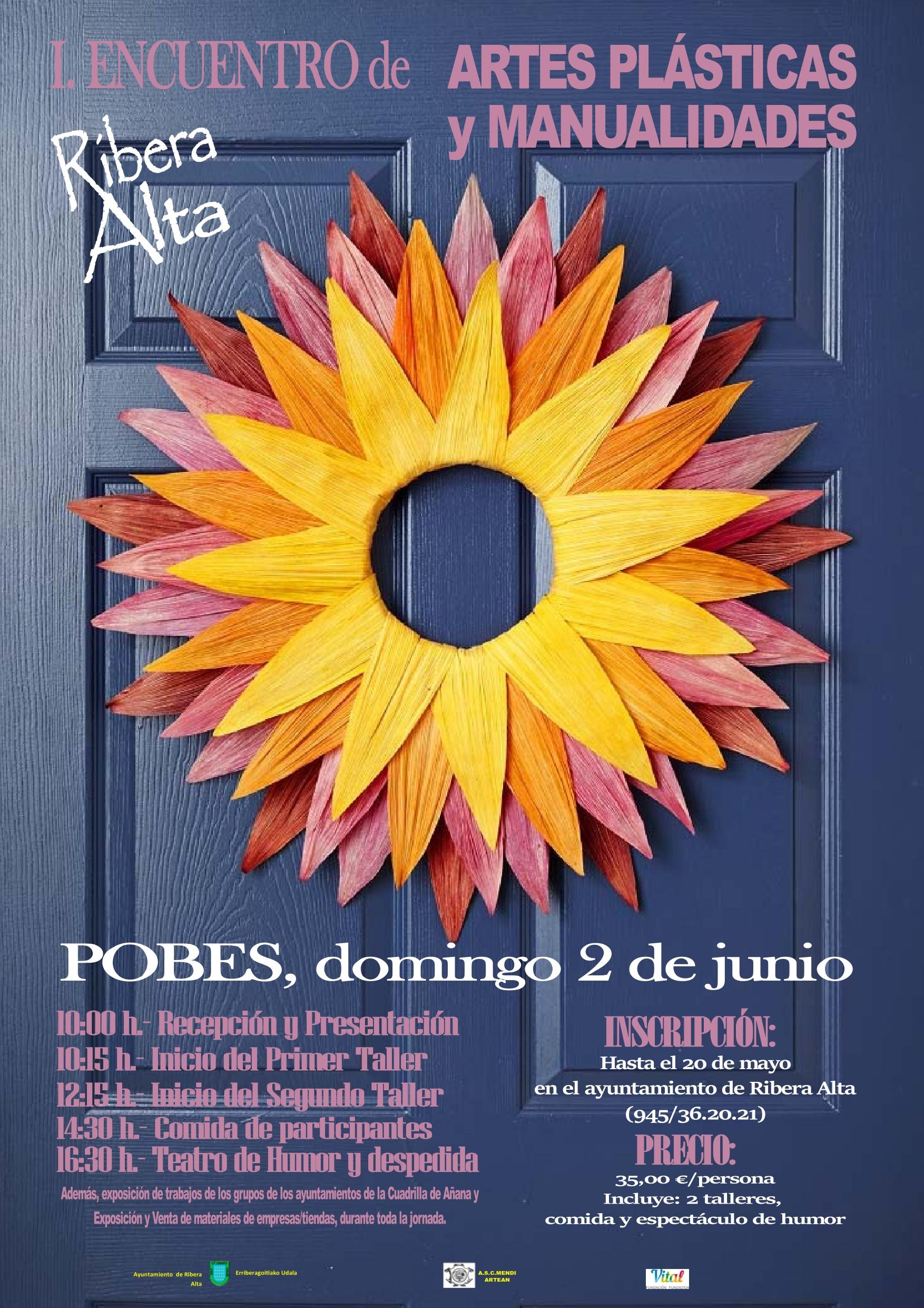 Primer encuentro de Artes Plásticas y Manualidades en Ribera Alta