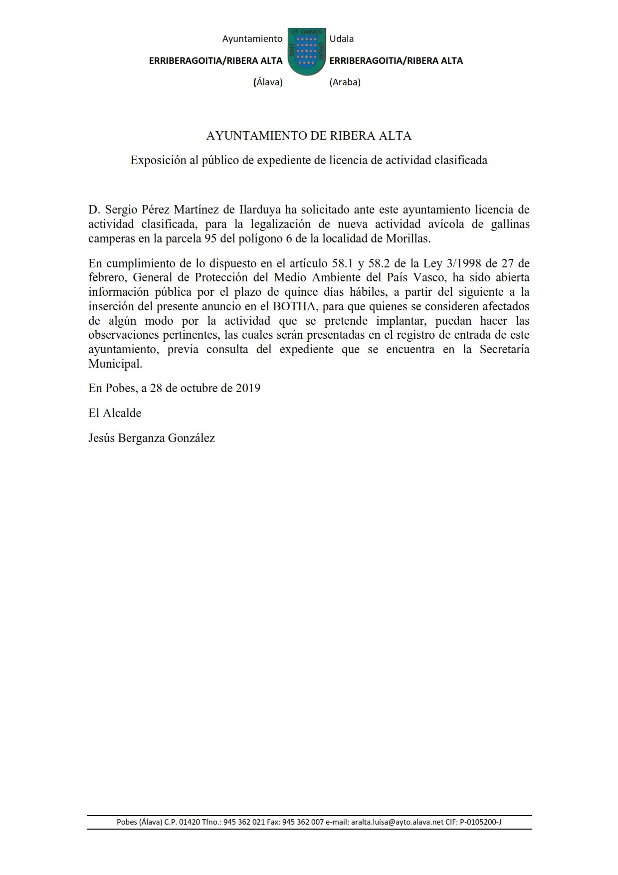 ANUNCIO EXPEDIENTE RUINA, orden de ejecución incumplimiento de deberes seguridad